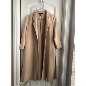 Nude Forever 21 Side Split Jacket